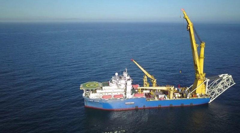 трубоукладчик «Газпрома» идёт в Европу с эскортом из боевых кораблей