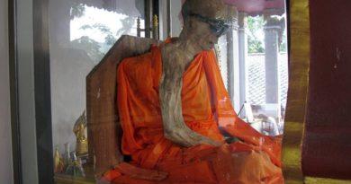 Ученые считают, что мумия монаха жива