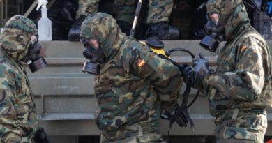 В Испании армия находит брошенные тела