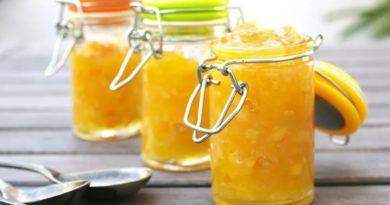 Варенье из дыни с лимоном