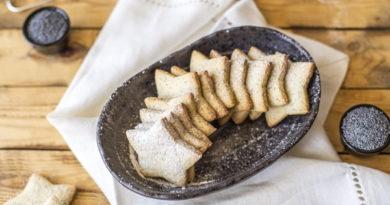 Домашнее печенье с маком
