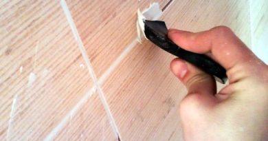 Как заделать сколы и трещины на плитке