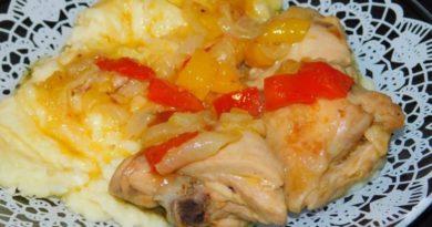 Курица в апельсиновом соке