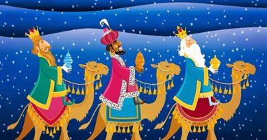 В Испании вместо Деда Мороза - три короля