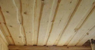 Какой сделать потолок в бане