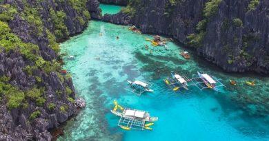 Пляжный отдых в Эль Нидо на острове Палаван (Филиппины)