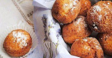 Пончики творожные (с кокосом и шоколадом)
