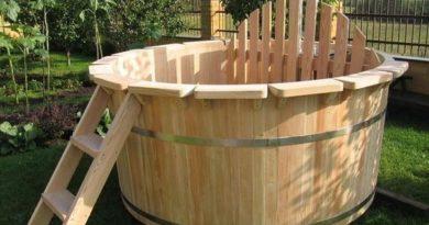 Строим деревянную купель