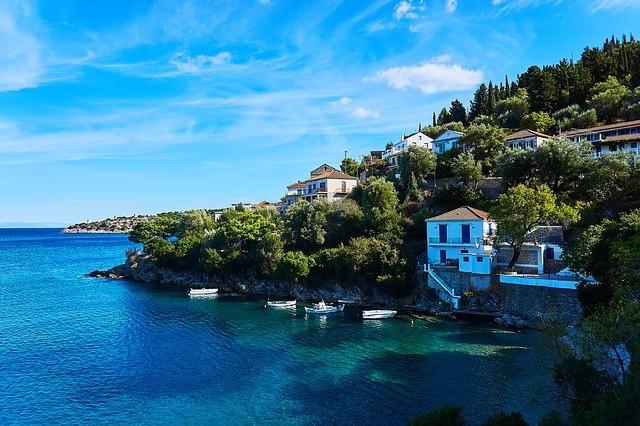 Пляжи острова Итака (Греция)
