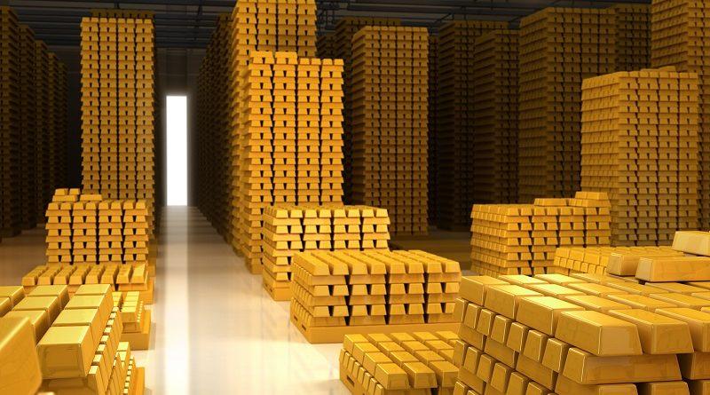 Самое большое в мире хранилище золота