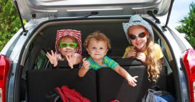 Как правильно путешествовать на машине с детьми