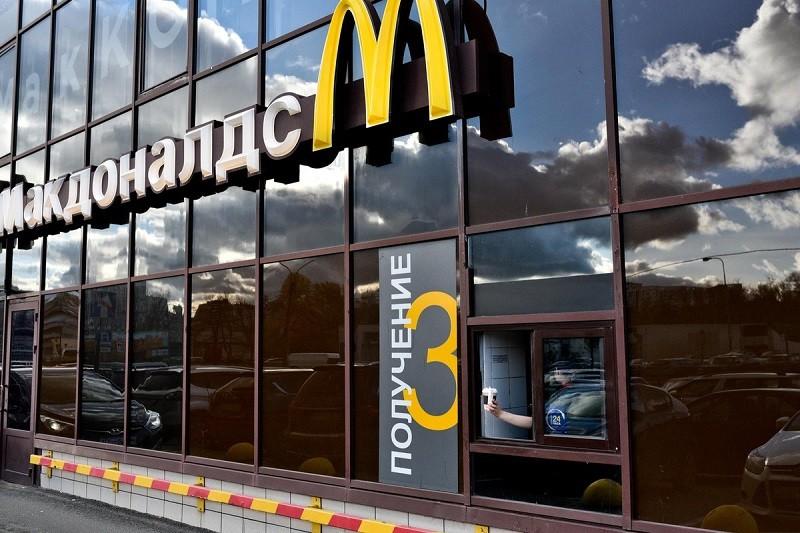 """McDonald""""s открыл первый ресторан в «Перекрестке»"""