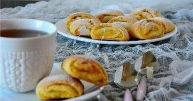 Печенье (с апельсиновой начинкой)