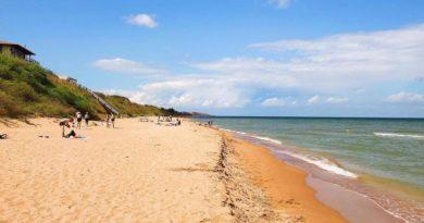 Пляжный отдых на Азовском море — Семибалки и Круглое