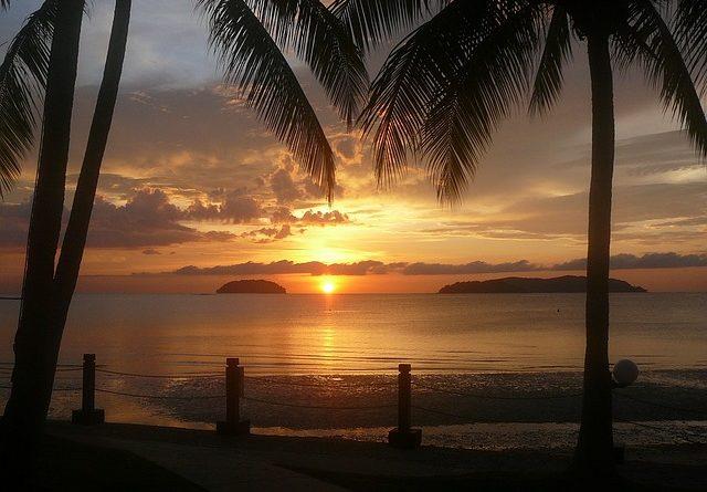 Пляжный отдых в Индонезии на острове Калимантан (Борнео)
