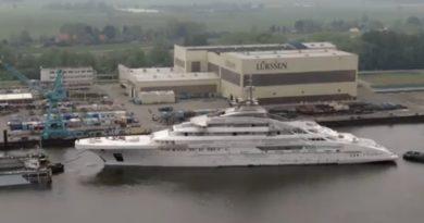 Список самых больших яхт мира пополнило новое судно