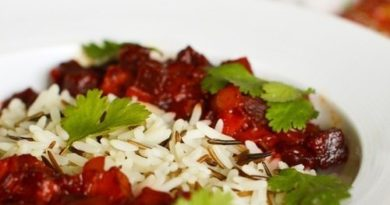 Свекольное рагу (с рисом)