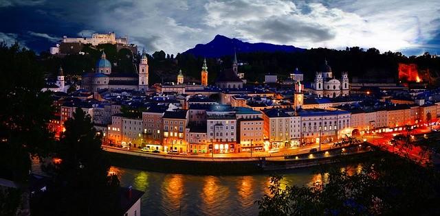 Город Зальцбург (Австрия) — главные достопримечательности
