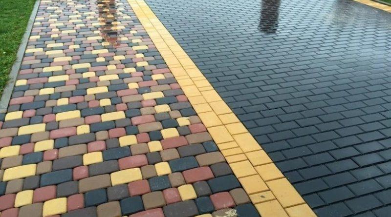 Как правильно положить тротуарную плитку