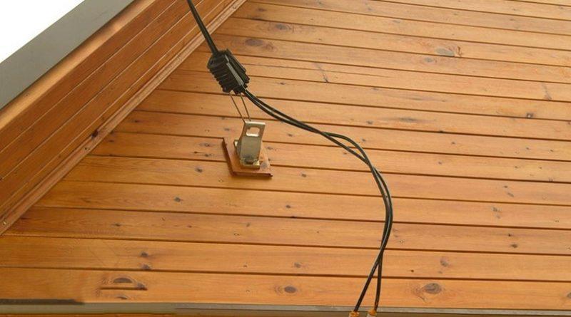 Как выполнить ввод электричества в дом от столба
