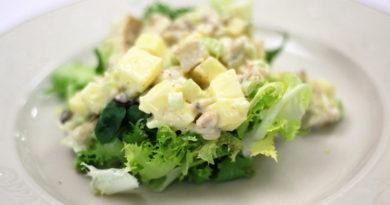 Куриный салат Вальдорф