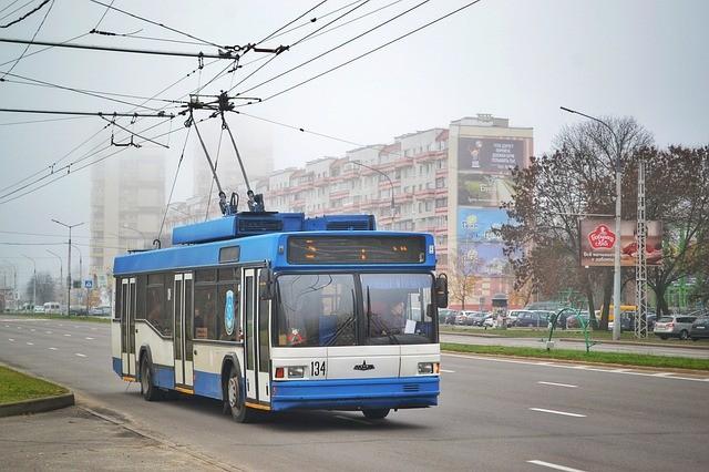 Москва: движение троллейбусов прекращено