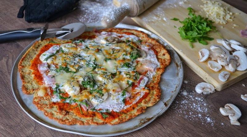 Низкокалорийная пицца без теста