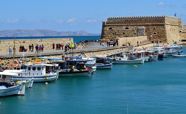 Пляжный отдых на Крите, курорт Ираклион