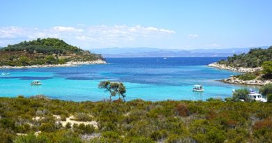 Пляжный отдых на полуострове Халкидики (Греция)