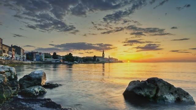 Пореч (Хорватия) — пляжный отдых на Адриатическом море