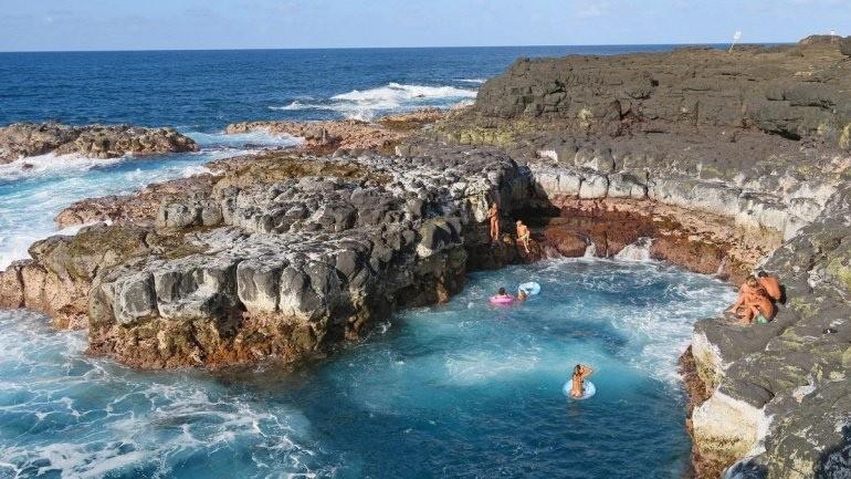 Ванна Смерти на острове Кауаи