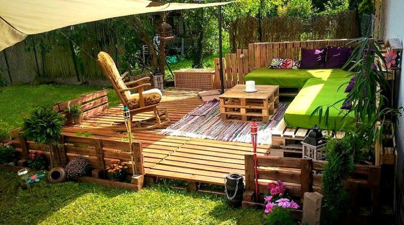 Интересные идеи для организации уютной зоны отдыха на Вашей даче