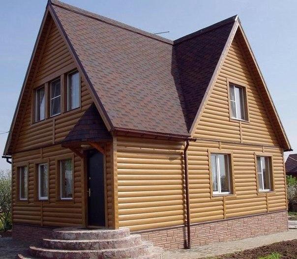 Обшиваем дом блок-хаусом снаружи