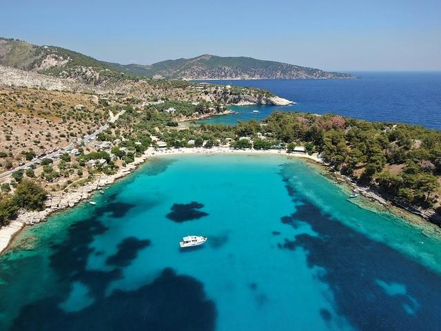 Пляжный отдых на острове Тасос (Греция)