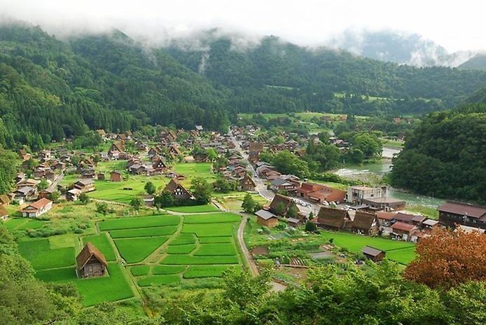 Сиракава. Традиционные японские поселения