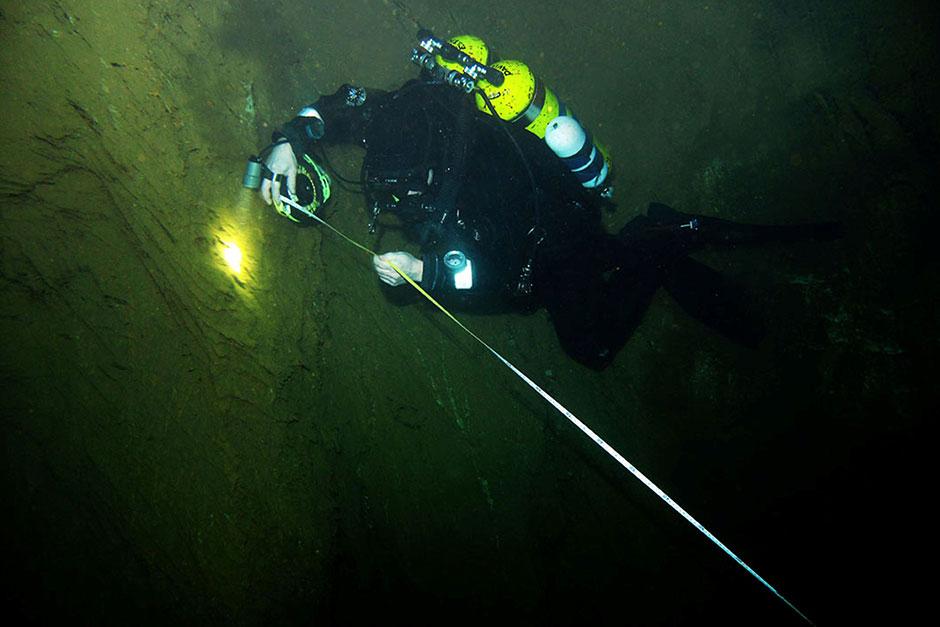Установлена новая глубина самой глубокой пресноводной пещеры