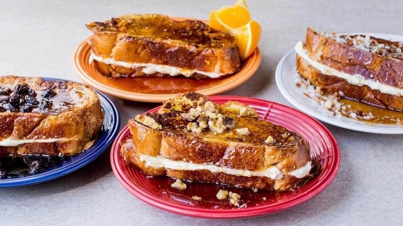 Французский тост с кукурузными хлопьями