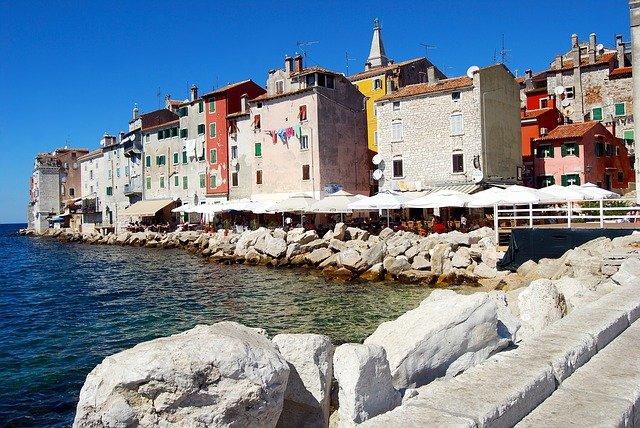 Главные города-курорты Хорватии: Сплит, Опатия, Ровинь