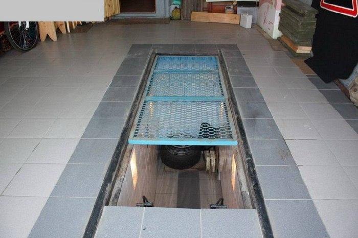 Как сделать смотровую яму