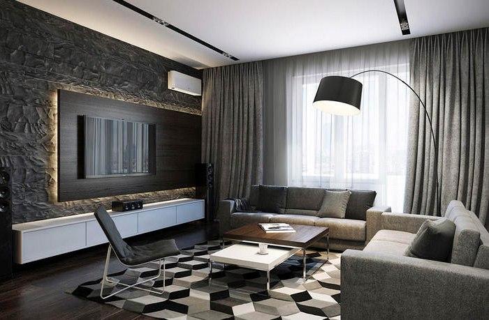 Потолочные шторы в зал — советы и рекомендации по выбору