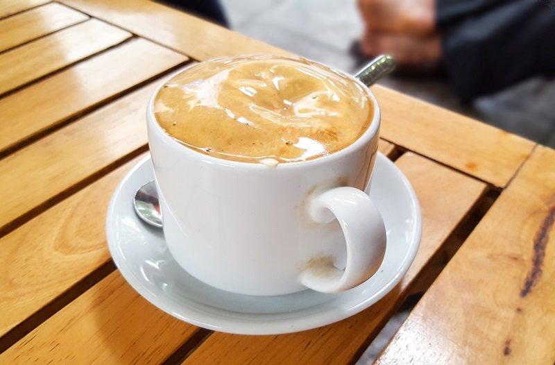 Рецепт кофе с яйцом
