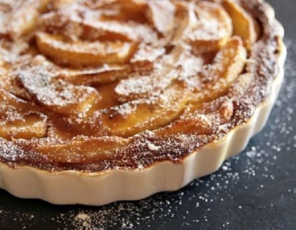 Рецепт знаменитого французского яблочного пирога