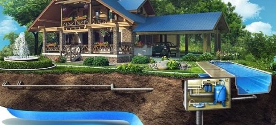 Водопровод в частном загородном доме своими руками