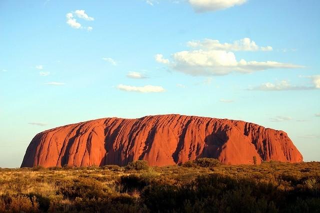 Гора Айрес, Австралия. Священное место аборигенов