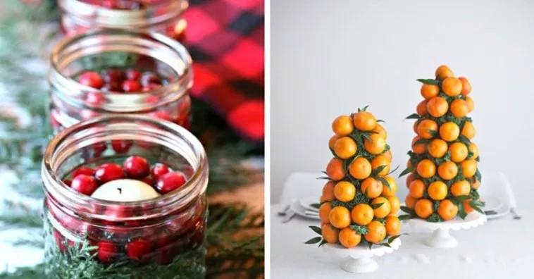 Как украсить Новогодний стол: 20 простых идей