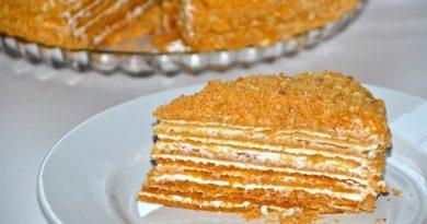 Классический торт «Чудо»
