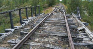 Недостроенная и заброшенная Железная дорога «Чум — Салехард — Игарка»