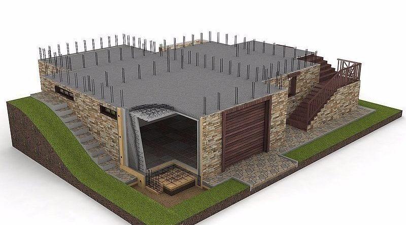 Особенности строительства цокольного этажа и подвала