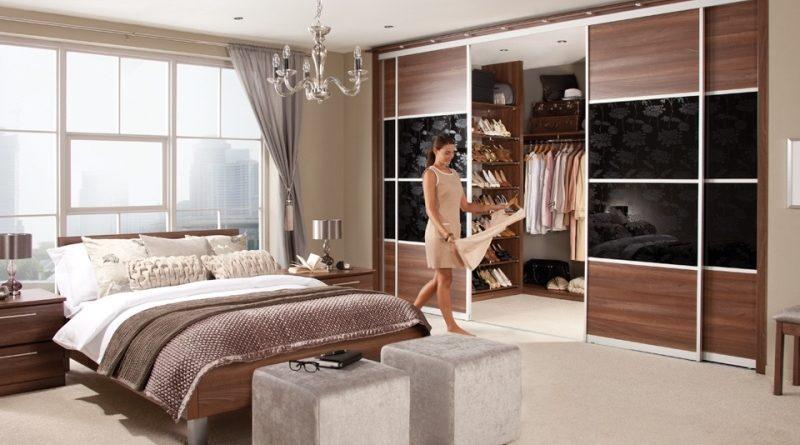 Спальни с гардеробной