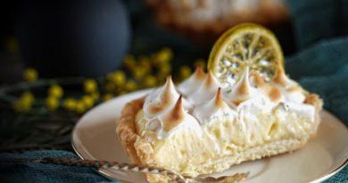 Тарталетки с лимонно-лаймовым кремом и меренгой